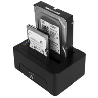 ewent Dual HDD and SSD Docking Station EW7014 Zwart