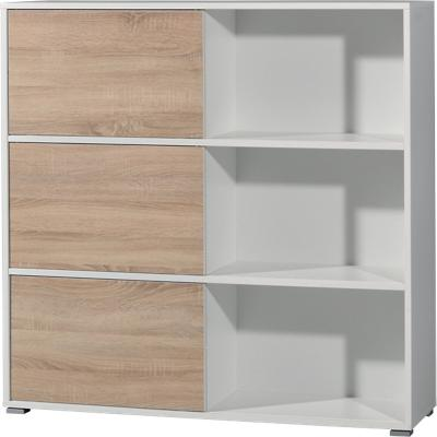 GERMANIA Kast H120 2 Bruin, wit 1.200 x 350 x 1.190 mm
