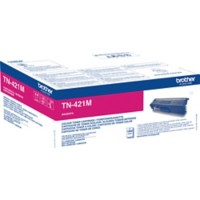 Brother TN-421M Origineel Tonercartridge Magenta Magenta