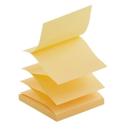 Office Depot Z-Notes 76 x 76 mm Geel 6 Blokken van 100 Vellen