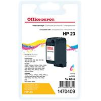 Office Depot Compatibel HP 23 Inktcartridge C1823D 3 kleuren