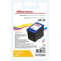 Office Depot Compatibel HP 57 Inktcartridge C6657A 3 kleuren