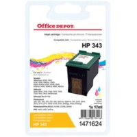 Office Depot Compatibel HP 343 Inktcartridge C8766EE 3 kleuren