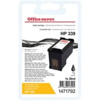 Office Depot Compatibel HP 339 Inktcartridge C8767EE Zwart