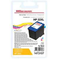 Office Depot Compatibel HP 22 Inktcartridge C9352CE 3 kleuren