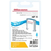 Office Depot Compatibel HP 11 Inktcartridge C4836A Cyaan