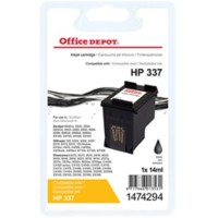 Office Depot Compatibel HP 337 Inktcartridge C9364EE Zwart