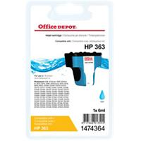 Office Depot Compatibel HP 363 Inktcartridge C8771EE Cyaan