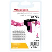 Office Depot Compatibel HP 363 Inktcartridge C8772EE Magenta