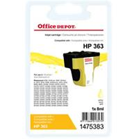 Office Depot Compatibel HP 363 Inktcartridge C8773EE Geel