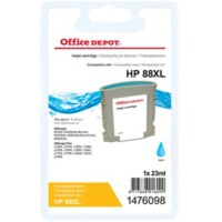 Office Depot Compatibel HP 88XL Inktcartridge C9391A Cyaan