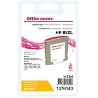 Office Depot Compatibel HP 88XL Inktcartridge C9392A Magenta