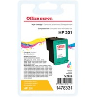 Office Depot Compatibel HP 351 Inktcartridge CB337EE 3 kleuren
