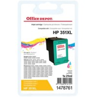 Office Depot Compatibel HP 351XL Inktcartridge CB338EE 3 kleuren