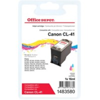 Office Depot Compatibel Canon CL-41 Inktcartridge 3 kleuren