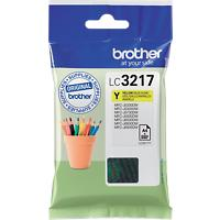 Brother LC3217Y Origineel Inktcartridge Geel