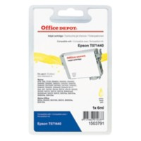 Office Depot Compatibel Epson T0714 Inktcartridge T017440 Geel