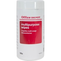 Office Depot Multifunctionele reinigingsdoekjes dispenser 100 stuks