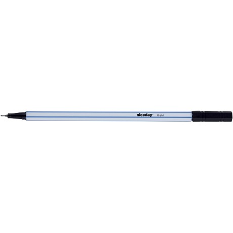 Niceday FL0.4 Fineliner Zwart