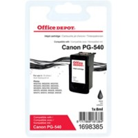 Office Depot Compatibel Canon PG-540 Inktcartridge Zwart