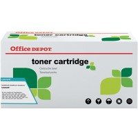 Office Depot Compatibel Lexmark 502H Tonercartridge Zwart