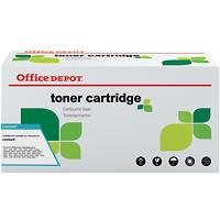 Originele Office Depot Lexmark 502H Tonercartridge Zwart
