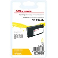 Office Depot Compatibel HP 953XL Inktcartridge F6U18AE Geel