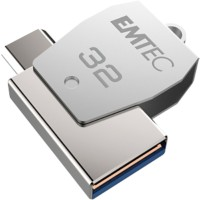 EMTEC Micro USB-stick 2-in-1 T250B Mobile & Go 32 GB Zilver