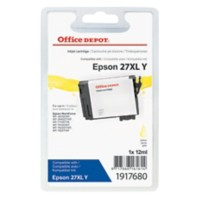 Office Depot Compatibel Epson 27XL Inktcartridge T271440 Geel