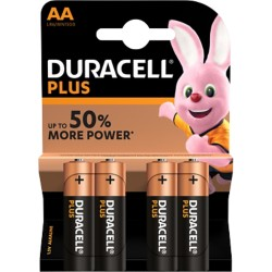 Duracell Batterijen Plus Power AA 4 stuks