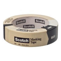 Scotch Afplaktape Basic 30 mm x 50 m Beige