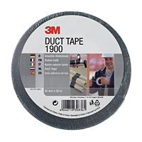 3M Economy Duct Tape 1900 Zilver 50 mm x 50 m