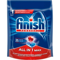 Finish Vaatwastabletten All-In-One Max 25 stuks à 400 g