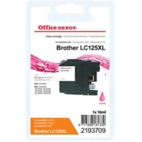Office Depot Compatibel Brother LC125XL Inktcartridge Magenta