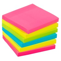 Office Depot Extra Sticky Notes 76 x 76 mm Kleurenassortiment 6 Stuks à 90 Vellen
