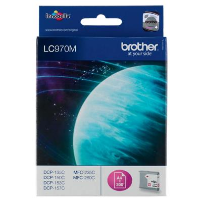 Brother LC970M Origineel Inktcartridge Magenta