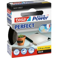 tesa extra Power Textieltape Extra Power 19 mm x 2,75 m Zwart