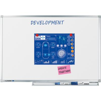 Legamaster Wandmontage Magnetisch Whiteboard Emaille Professional 120 x 90 cm