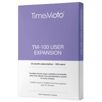 Safescan Cloud-uitbreiding TimeMoto TM-100