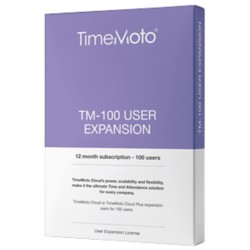 Safescan User expansion software TimeMoto User Expansion Software TM-100