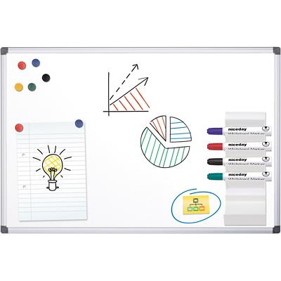 Office Depot Whiteboard Staal Magnetisch 180 x 90 cm