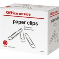 Office Depot Papier Clips Rond 50mm Pak van 1000