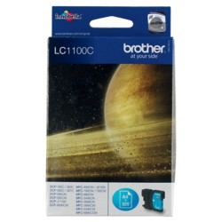 Brother LC1100C Origineel Inktcartridge Cyaan