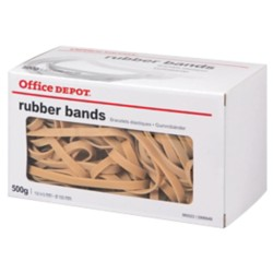 Office Depot Elastiekjes 28/6 Naturel 150 x 6 mm 500 g