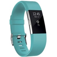 Fitbit Activiteitsmeter Charge 2 small Petrol, zilver