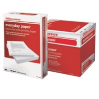 Office Depot Everyday print-/ kopieerpapier A4 80 gram Wit 5 Pakken à 500 vellen
