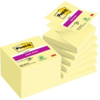 Post-it Z-notes 76 x 76 mm Geel 12 Stuks à 90 Vellen