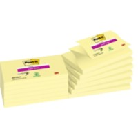 Post-it Super Sticky Z-Notes 127 x 76 mm Canary Yellow Geel 12 Blokken van 90 Vellen