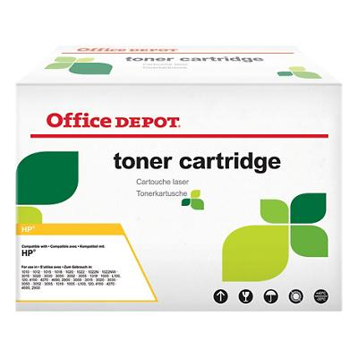 Compatibel Office Depot HP 502A Tonercartridge Q6472A Geel