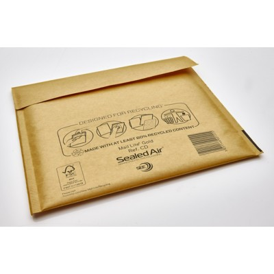 Sealed Air CD 79 g/m² Zonder Venster Kleefstrip 180 x 160 mm 10 Stuks